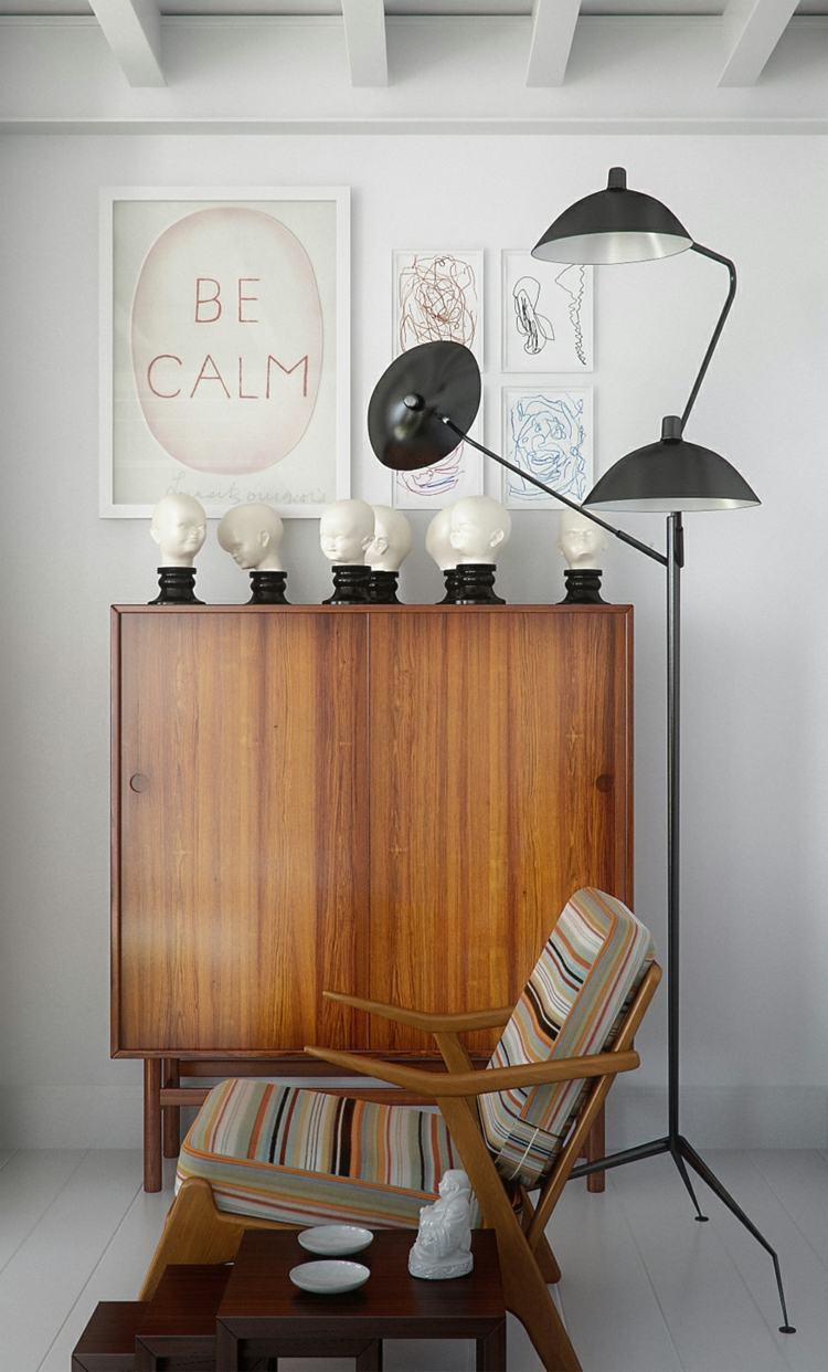 decoración estilo vintage armario madera ideas