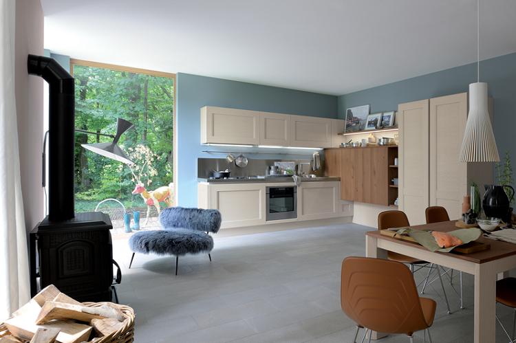 Decoracion vintage para cocinas salones y dormitorios - Decoracion chimeneas salon ...