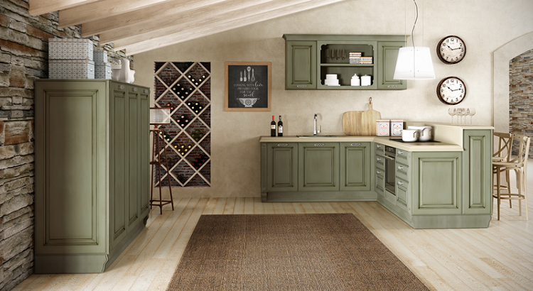 Decoracion vintage para cocinas salones y dormitorios for Muebles de cocina vintage