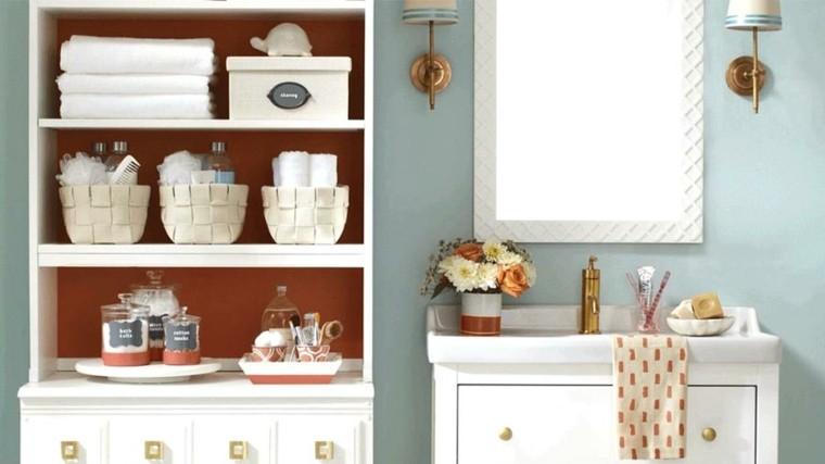 decoracion vintage cuarto de baño