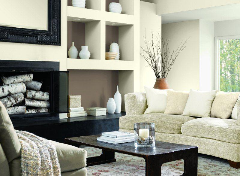 decorar paredes colores salon blanco ideas