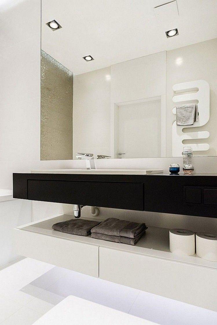 diseño cuarto baño color blanco