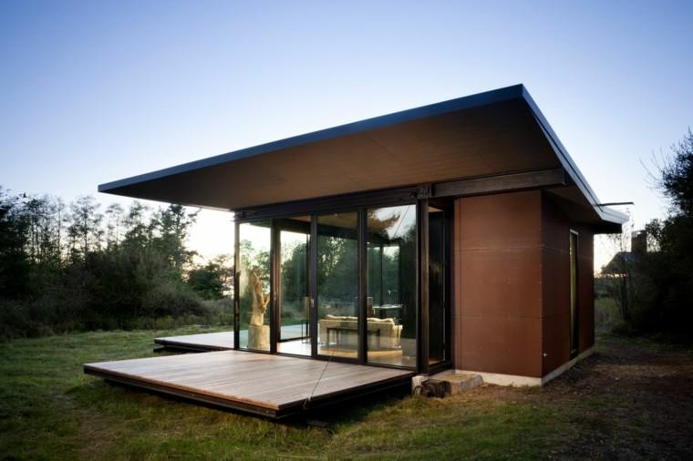 diseño casa modular extensible prefabricada