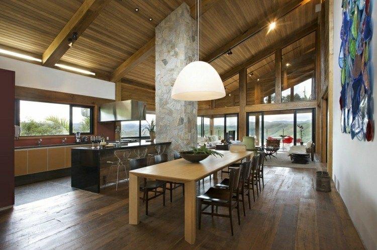 diseño comedor muebles madera