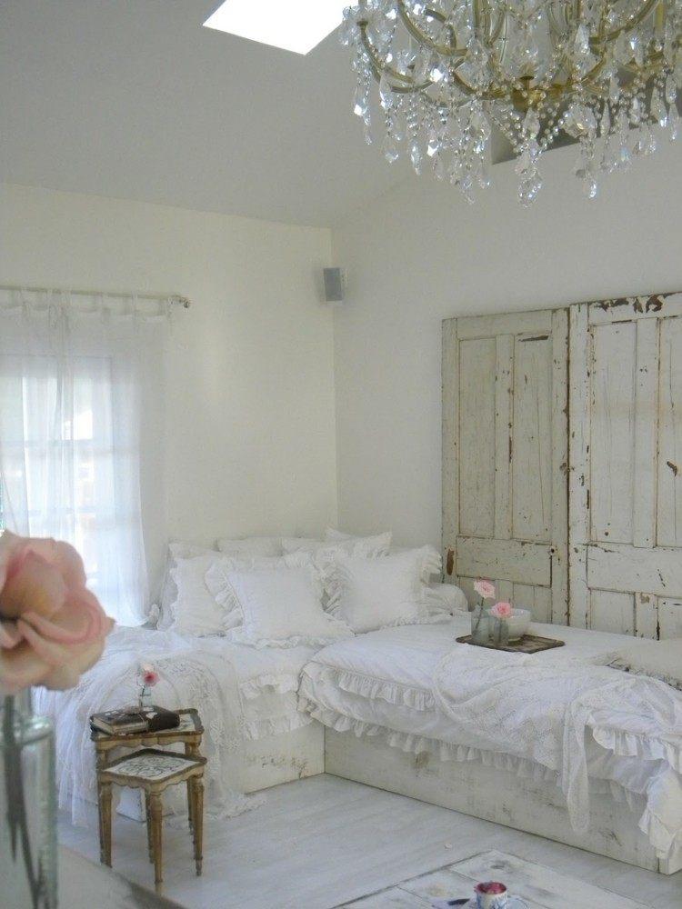 Estilo shabby chic en el dormitorio 50 ideas - Dormitorio estilo romantico ...