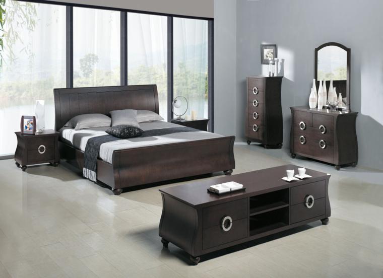 diseño conjunto muebles dormitorio habitacion