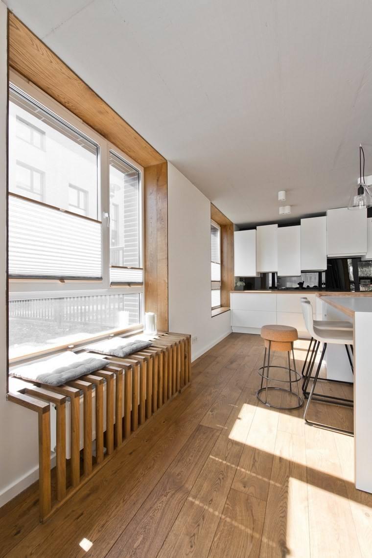 diseño de interiores loft estilo escandinavo cocina elegante ideas