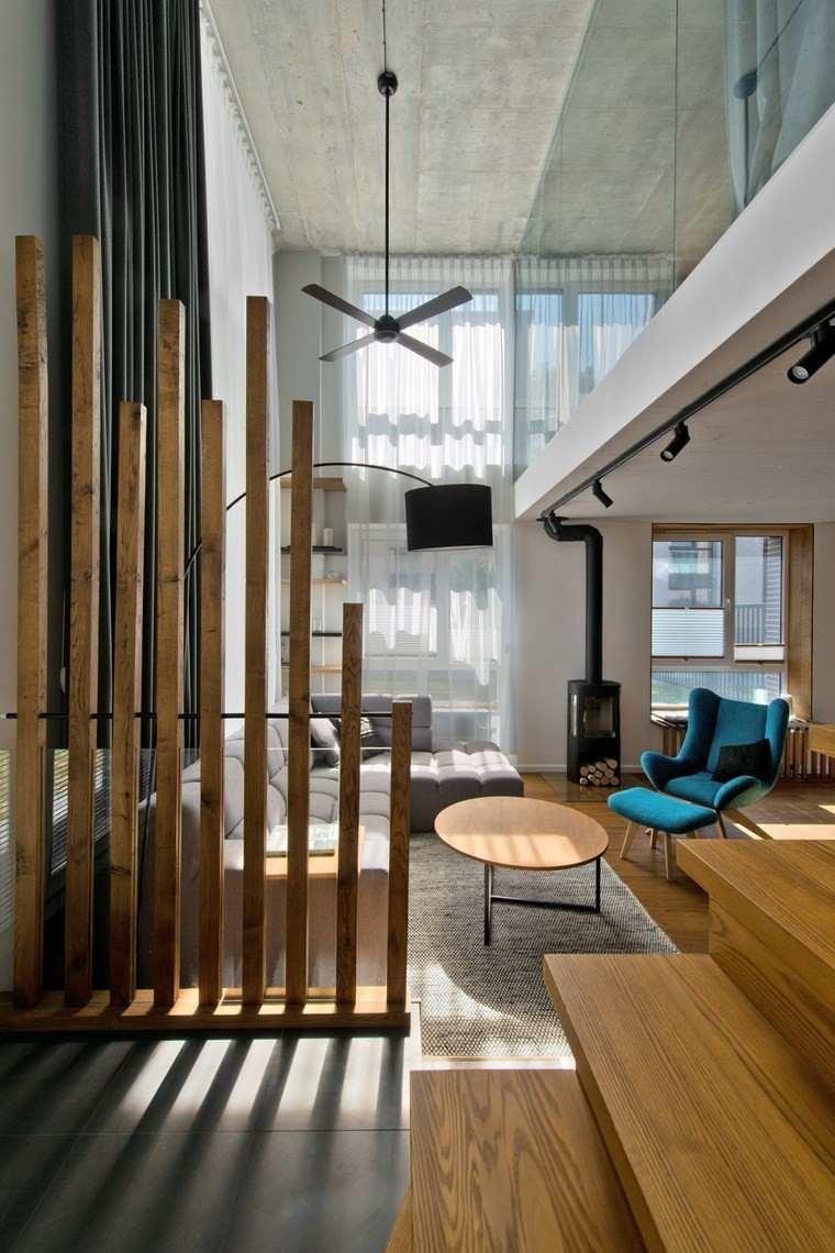 diseno de interiores estilo escandinavo salon separador ideas
