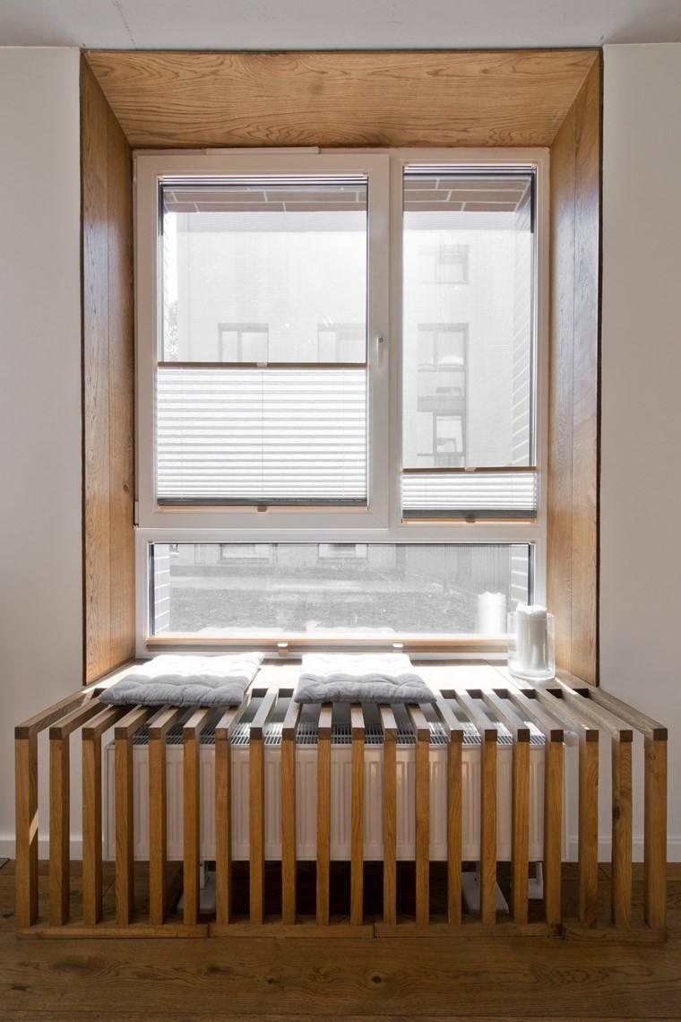 diseno de interiores estilo escandinavo ventana asiento ideas