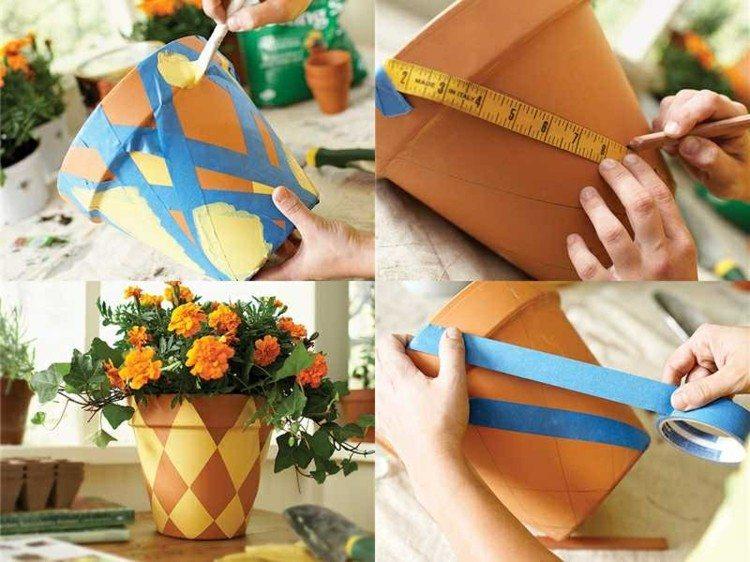 diy estilo decoracion lineas flores