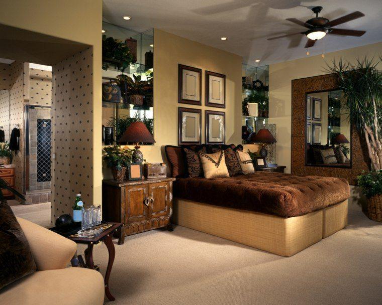 dormitorio de matrimonio ideas modernas decoracion estilo etnico bonito