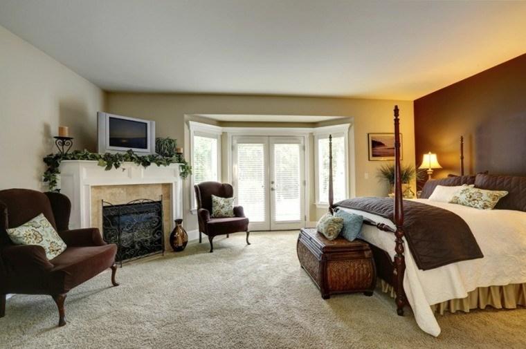 dormitorio de matrimonio ideas moderna diseño contemporaneo bonito