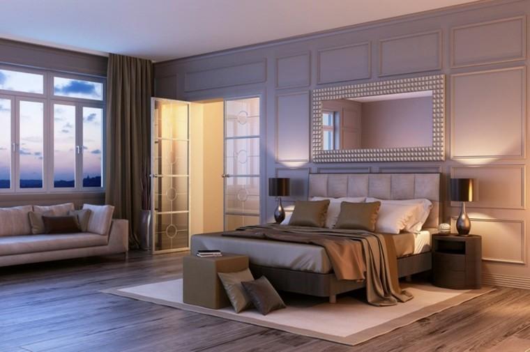 dormitorio de matrimonio ideas modernas sofa blanca bonito