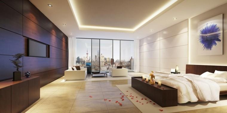 dormitorio matrimonio ideas modernas amplio confortable bonito