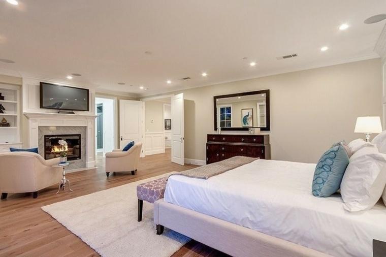 dormitorio matrimonio ideas modernas colores claros bonito - Colores Habitacion Matrimonio