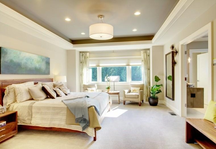 dormitorio matrimonio ideas modernas estilo zen bonito