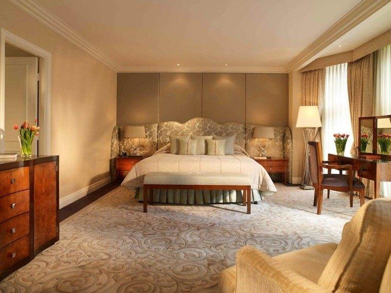 dormitorio matrimonio ideas modernas muebles madera bonito