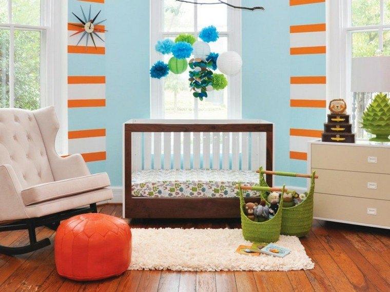 dormitorio vivo colorido estetico naranja