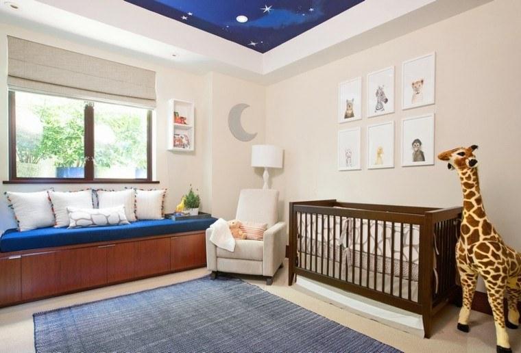 dormitorio vivo colorido jardines jirafa