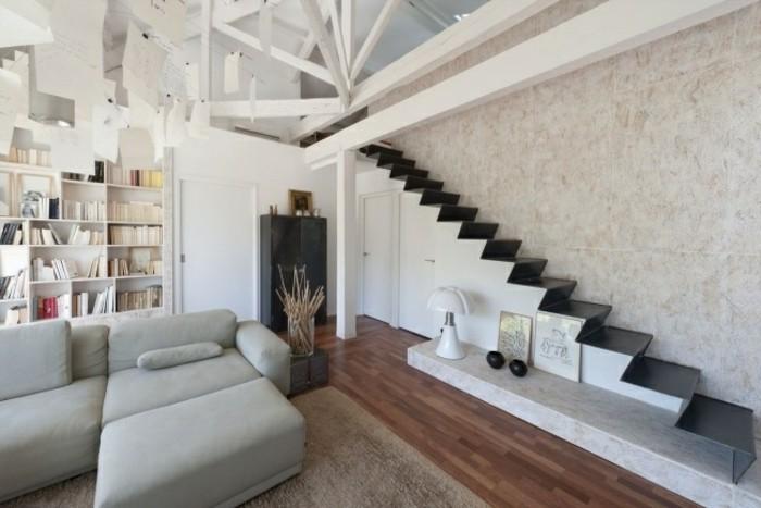escaleras madera aluminio cristal casa aluminio ideas