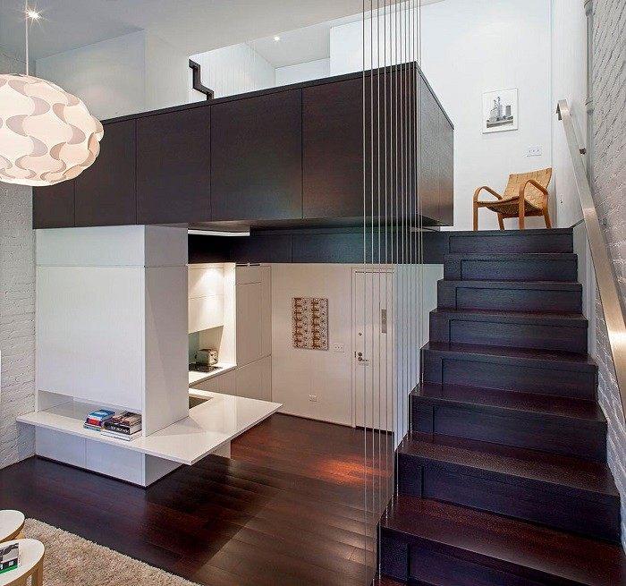 escaleras madera aluminio cristal casa suelo madera lamapara ideas