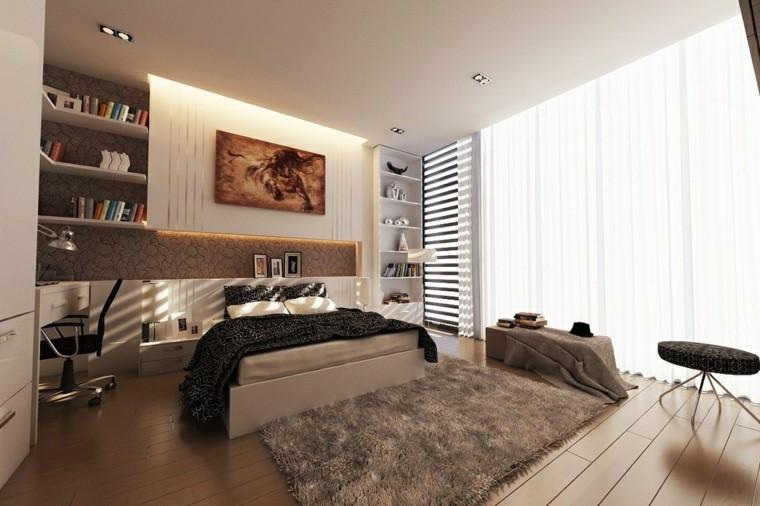 Espacio dormitorios de matrimonio amplios y luminosos - Ideas habitacion matrimonio ...