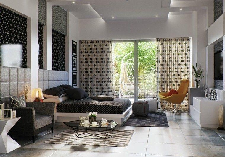 espacio dormitorios matrimonio amplios mesa cafe ideas