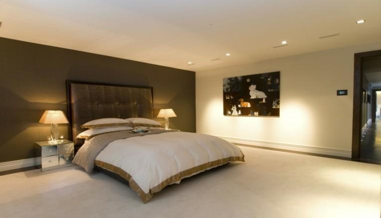 espacio dormitorios de matrimonio amplios mesita noche ideas