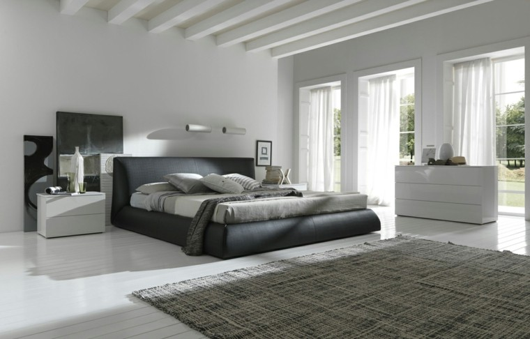 espacio dormitorios matrimonio amplios armario blanco ideas