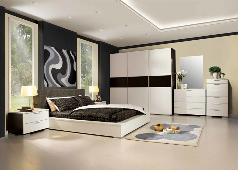 UN REGALO QUE TE DIÓ LA VIDA CAPÍTULO 6: Espacio-dormitorios-matrimonio-amplios-cama-blanca