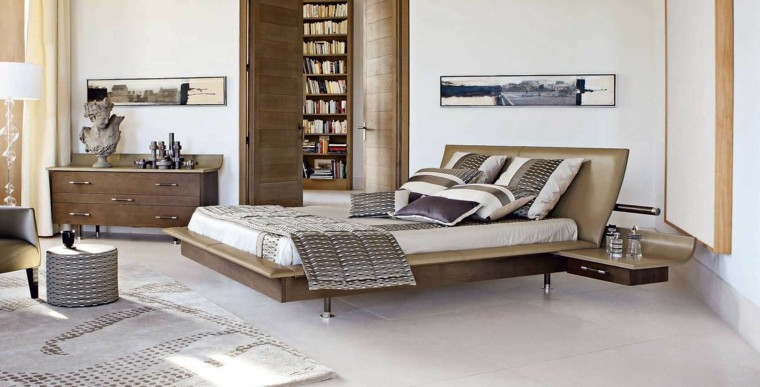 espacio dormitorios matrimonio amplios techo alto ideas