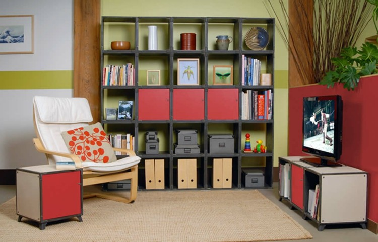 modular living room storage estanterias modulares para salones modernos 38 ideas 17231