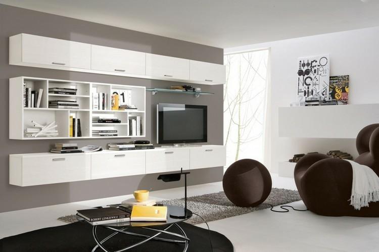 Estanterias modulares para salones modernos 38 ideas - Salones modulares modernos ...