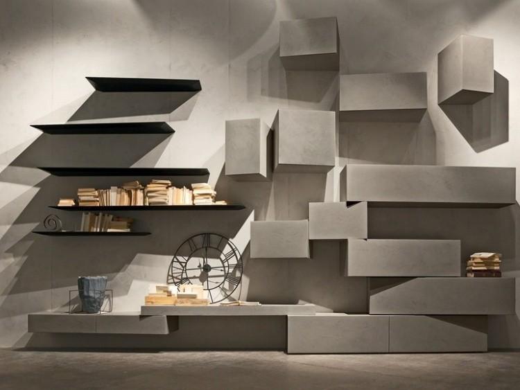 estantes muebles modernos diseño minimalista