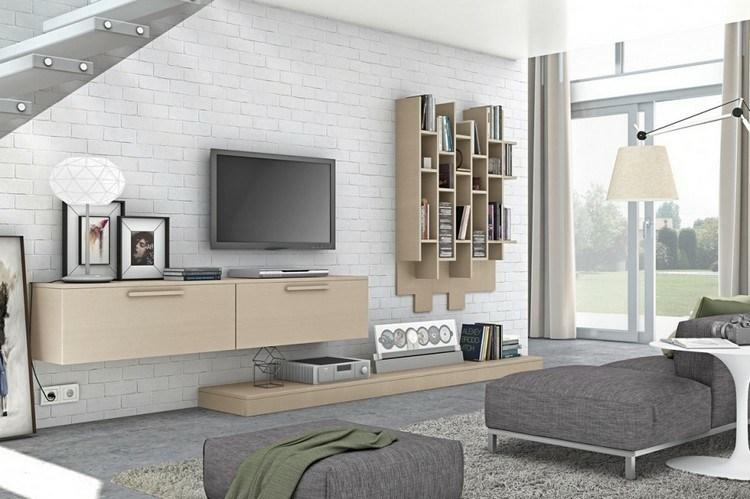 estantes modulares deco salon moderno
