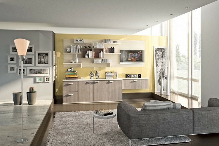 estanterias modulares madera laminada