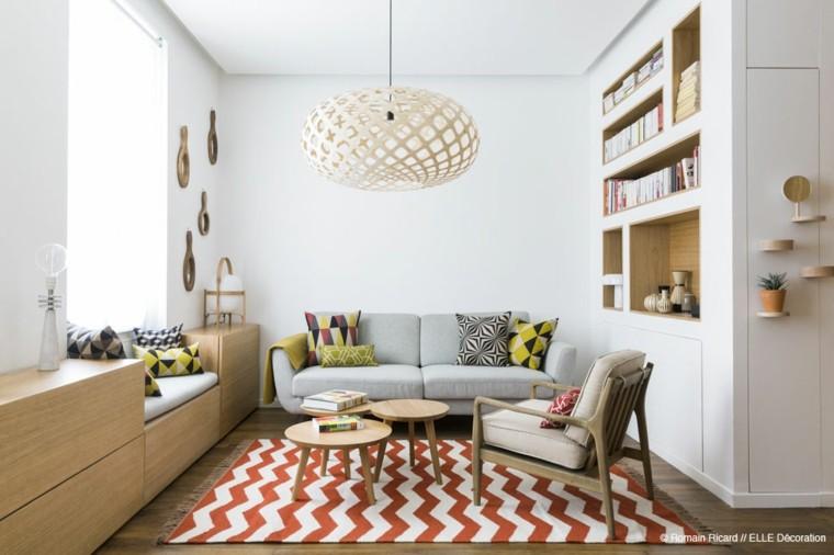 estilo cocina pequeña diseño alfombra