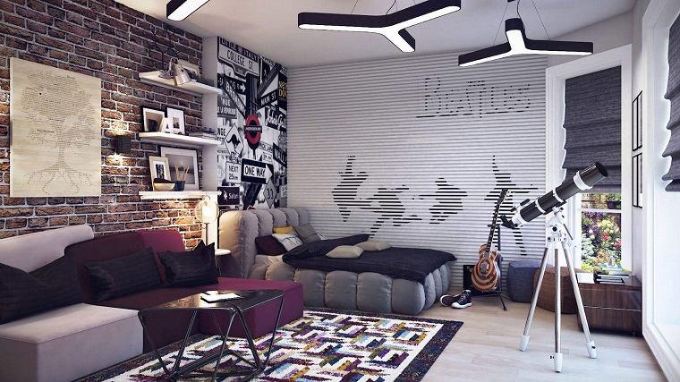 estilo-contemporaneo-diseno-habitacion-juvenil