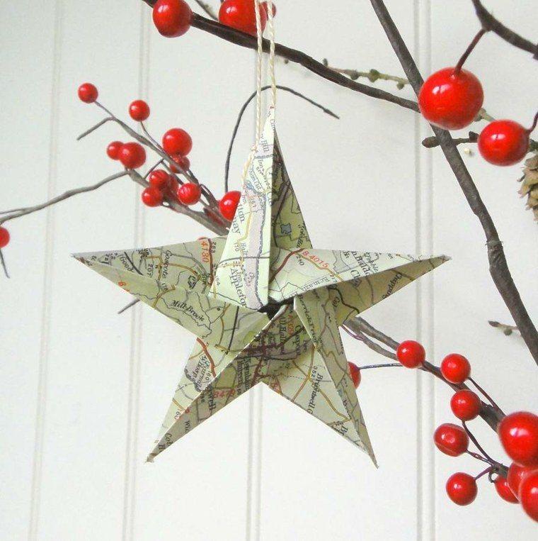 estrella decoracion detalles ramas diseños