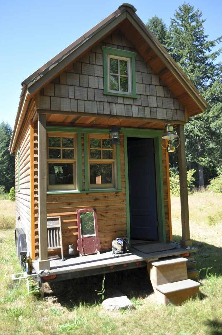 Casas peque as con encanto 38 modelos que enamoran for Tiny house kits california