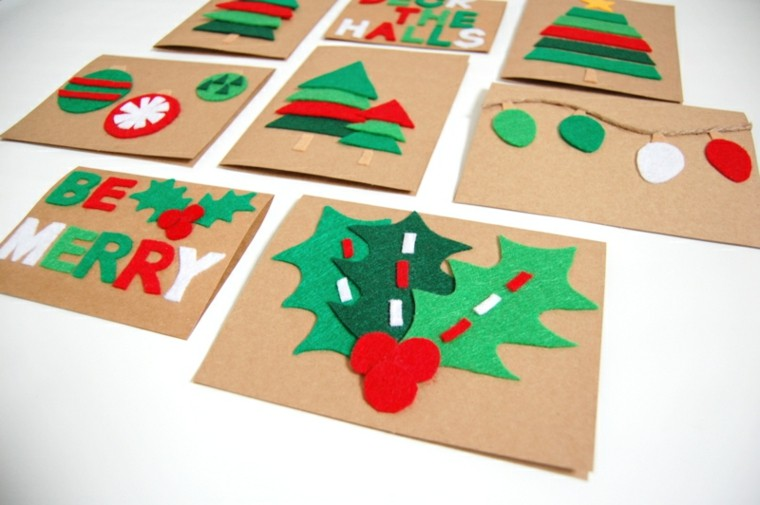 estupendas tarjetas deco adornos navidad