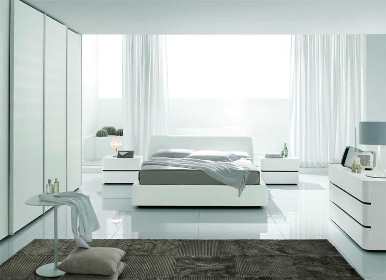estupendo diseño dormitorio color blanco