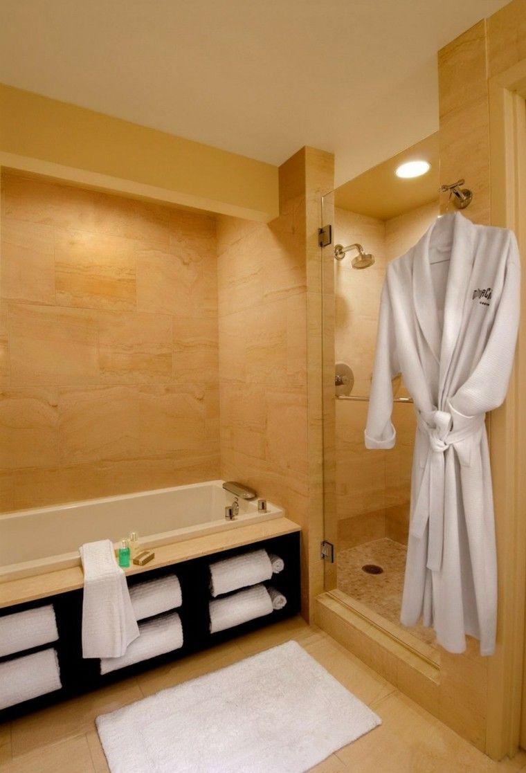 estupendo diseño baño sauna moderna