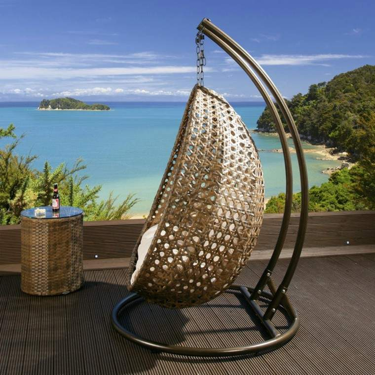 estupendo diseño columpio silla colgante