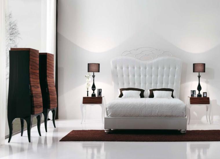 estupendo diseño moderno cama retro