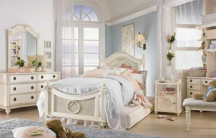 Estilo shabby chic en el dormitorio 50 ideas - Dormitorio shabby chic ...