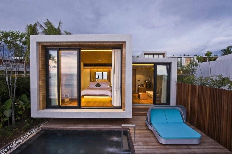 estupendo diseño casa forma cubo