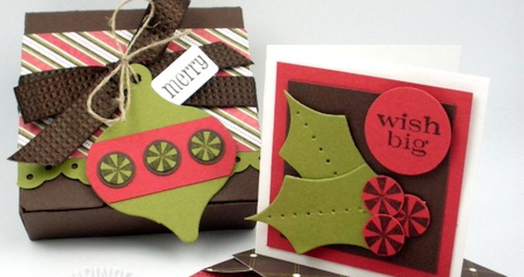 estupendos adornos tela tarjetas regalo