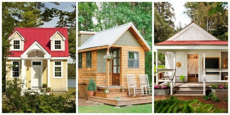 estupendos diseños casas pequeñas campo