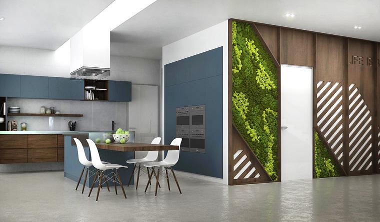 exterior diseño casa paisaje vertical